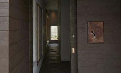 多治見の家~通り土間のある終の棲家(リノベーション) (玄関ポーチ)