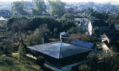 回の家~桜の大木と共に生き中庭を中心に回遊する家