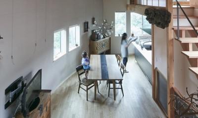 きいちゃんち~狭小地を有効に活用した2世帯住宅