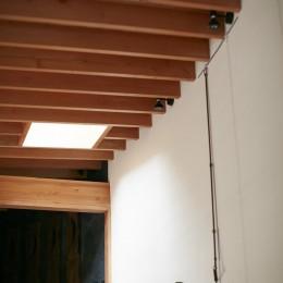 きいちゃんち~狭小地を有効に活用した2世帯住宅 (リビングダイニング)