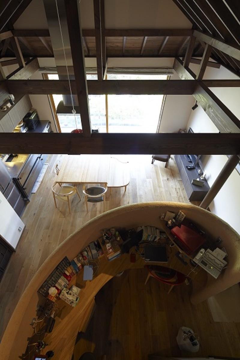 北鎌倉の家~伝統美と遊び心が融合する家 (ワークスペース)
