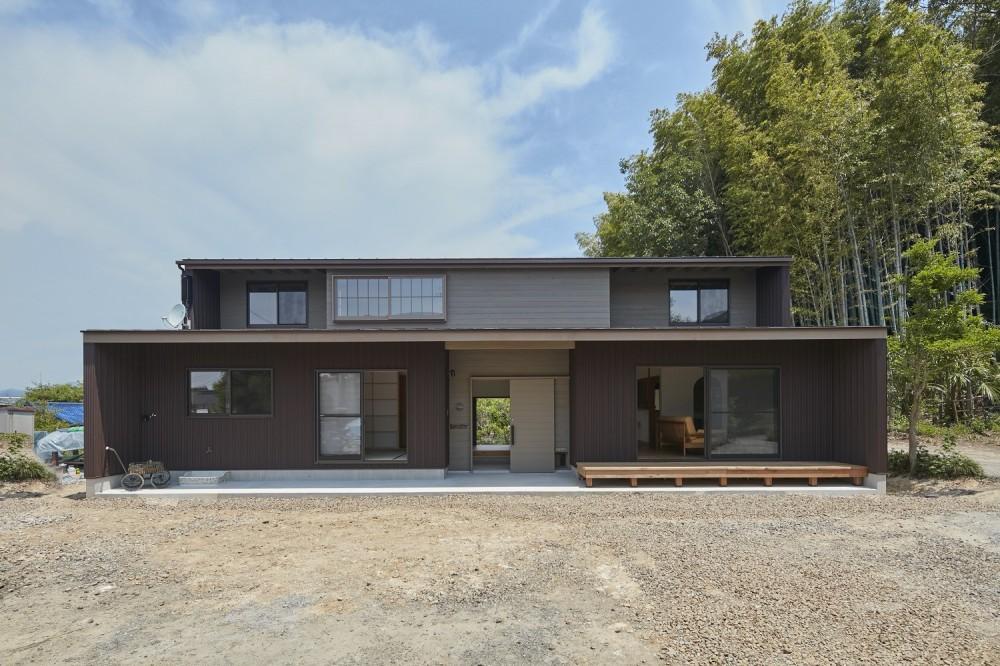 大草の家~猫と暮らすやさしいデザインの家 (外観)