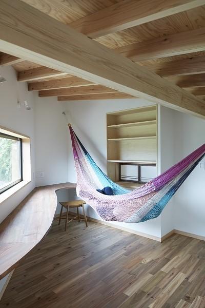 大草の家~猫と暮らすやさしいデザインの家 (ワークスペース)