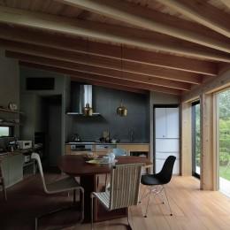扇垂木の家