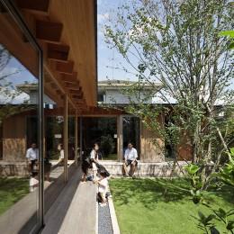 扇垂木の家 (庭)