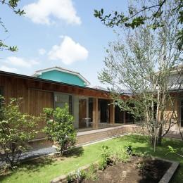 扇垂木の家 (家庭菜園)
