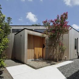 扇垂木の家 (玄関)