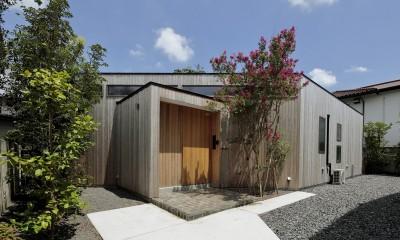 扇垂木の家 〜湘南・鵠沼海岸で平屋暮らしを楽しむ〜