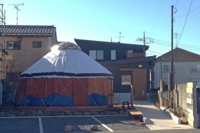 外観 (松戸の家3(ゲルのある家))