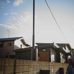 松戸の家3(ゲルのある家)