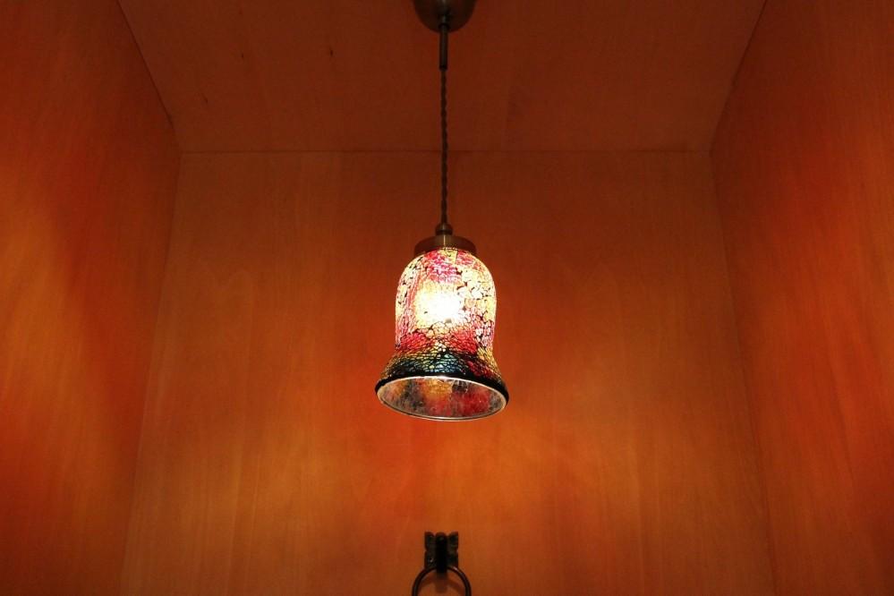 松戸の家3(ゲルのある家) (照明)