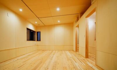 松戸の家3(ゲルのある家) (診療所)