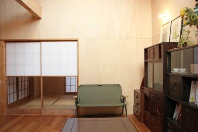 リビング/ダイニング (松戸の家3(ゲルのある家))