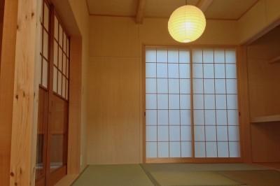 和室 (松戸の家3(ゲルのある家))