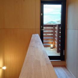 松戸の家3(ゲルのある家) (廊下)