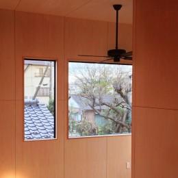 松戸の家3(ゲルのある家) (ハイサイドライト)