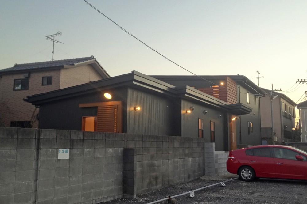 松戸の家3(ゲルのある家) (外観)