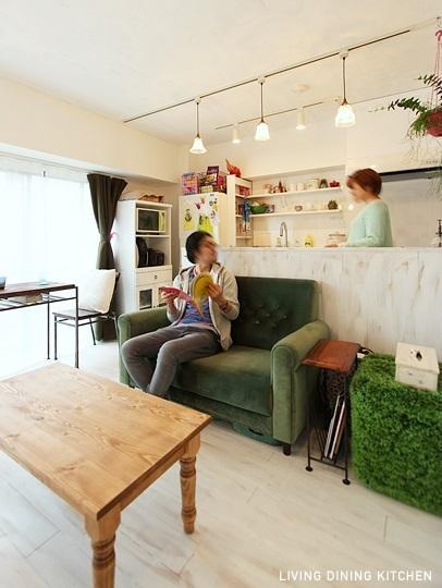 リフォーム・リノベーション会社:nu(エヌ・ユー)リノベーション「白く古く美しく」