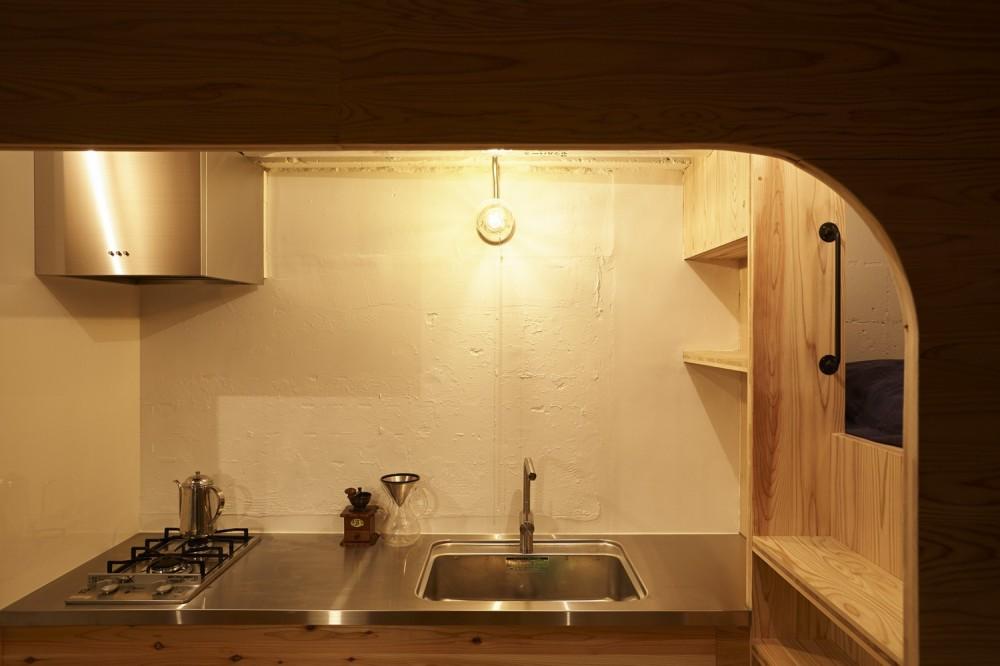 編集していく部屋 (木製キッチン)