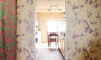 川崎市I様邸 ~こだわりがいっぱい~ (ウォークスルークローゼットと繋がるキッチン)