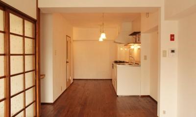 松戸の家2(無垢な賃貸) (リビング/ダイニング)