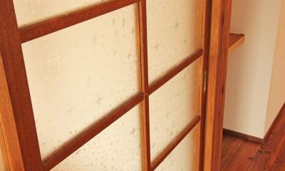 松戸の家2(無垢な賃貸) (障子)