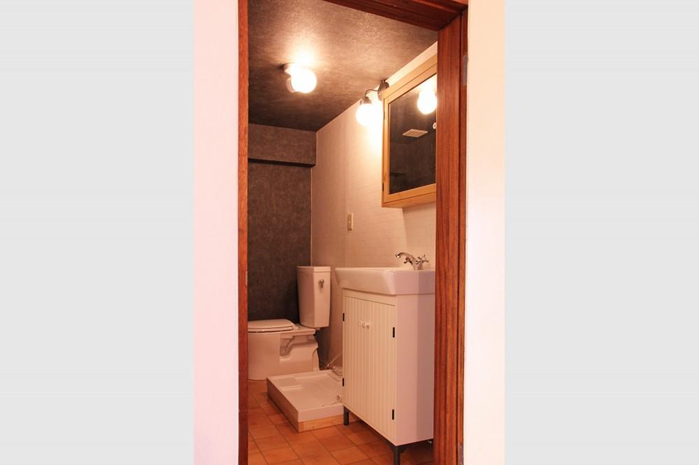 松戸の家2(無垢な賃貸) (バス/トイレ/洗面所)