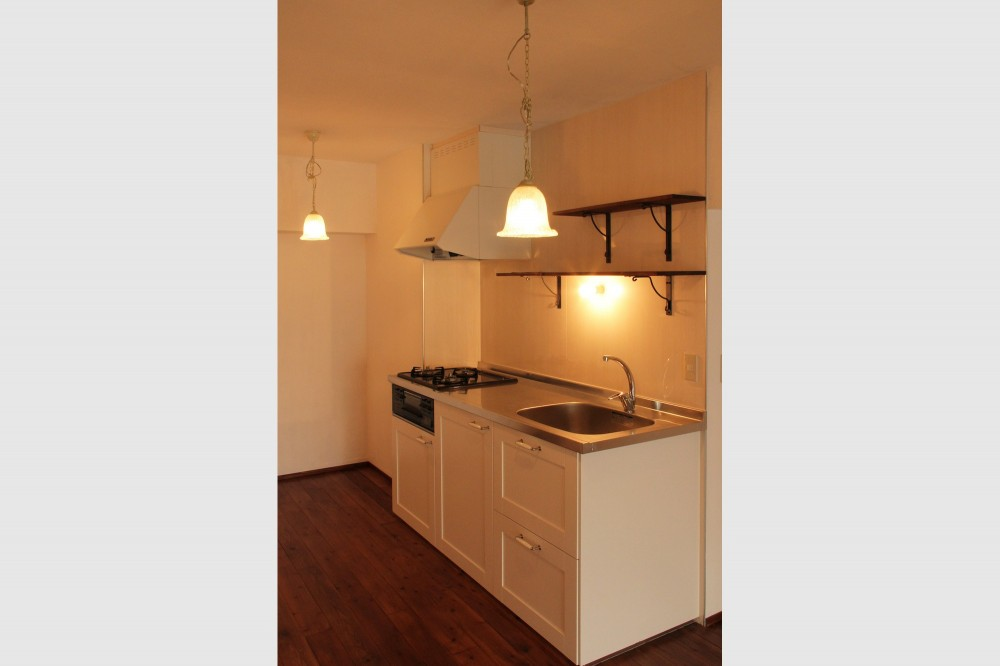 松戸の家2(無垢な賃貸) (キッチン)