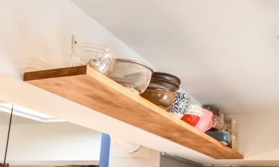 シーリングファンの似合う家 (キッチン)