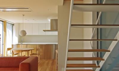 渡瀬の家-watase (階段)