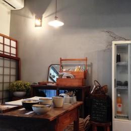 カフェ店内 (柏の家1(カフェのある家)について)
