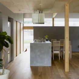 松尾の家2(ロフトで繋がる平屋の家)