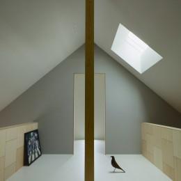 松尾の家2(ロフトで繋がる平屋の家) (ロフトのフリースペース)
