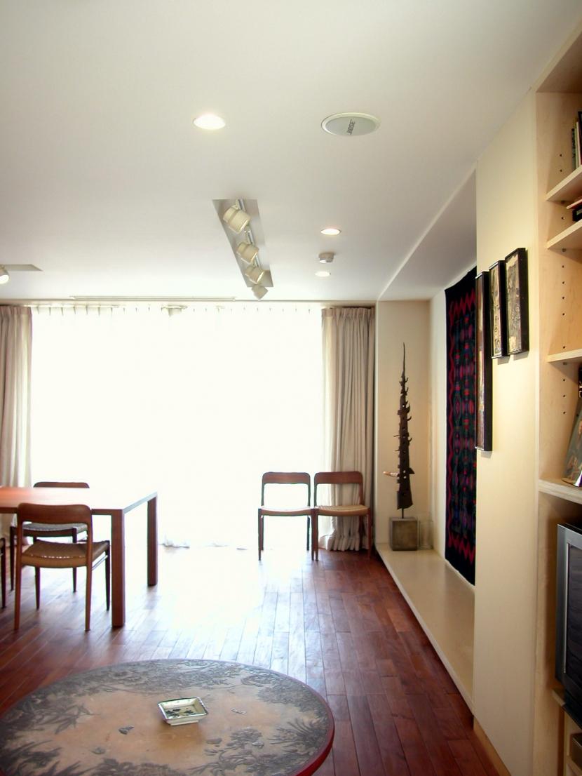 白金台K邸の部屋 リビング3
