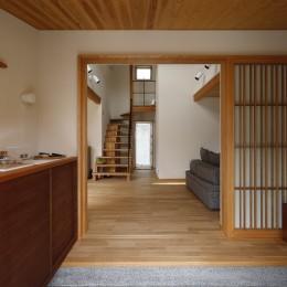 玄関1 (終の棲家~趣味を楽しみながら暮らす趣のある家~)