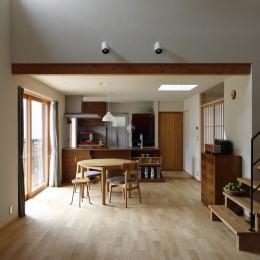 終の棲家~趣味を楽しみながら暮らす趣のある家~ (吹抜~ダイニング)