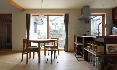 終の棲家~趣味を楽しみながら暮らす趣のある家~ (ダイニングキッチン2)