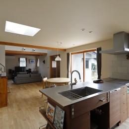 終の棲家~趣味を楽しみながら暮らす趣のある家~ (キッチン2)