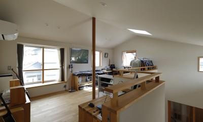 終の棲家~趣味を楽しみながら暮らす趣のある家~ (趣味室2)