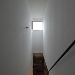 ここに帰りたくなる家~陶芸のアトリエのある家~ (階段)