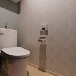 【デルフト焼き】映えの家 (トイレ)