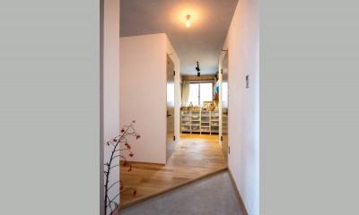 玄関|江戸川の家1(ノームコアな家)