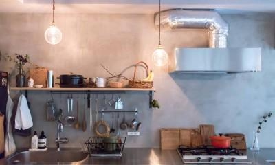 キッチン|江戸川の家1(ノームコアな家)