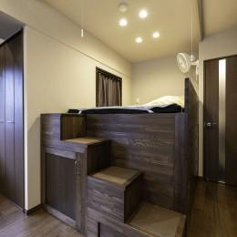 ベッドスペース (飛騨の樹林と、潮風と、)