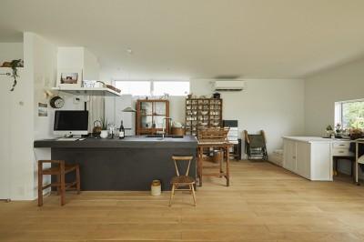 白の家 (キッチン)