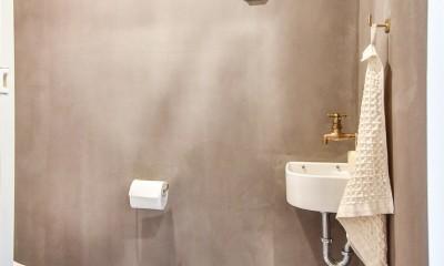 デザイナーの住まい (トイレ)