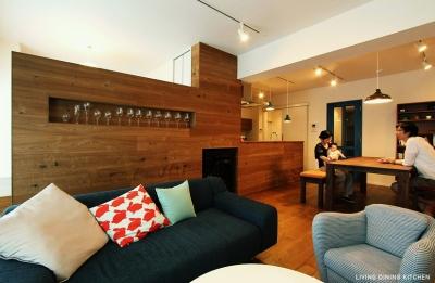 ワイン食堂 (LIVING DINING KITCHEN1)