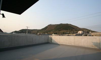 土間と広場 (屋上の眺望)