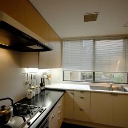 白金台K邸 (キッチン)