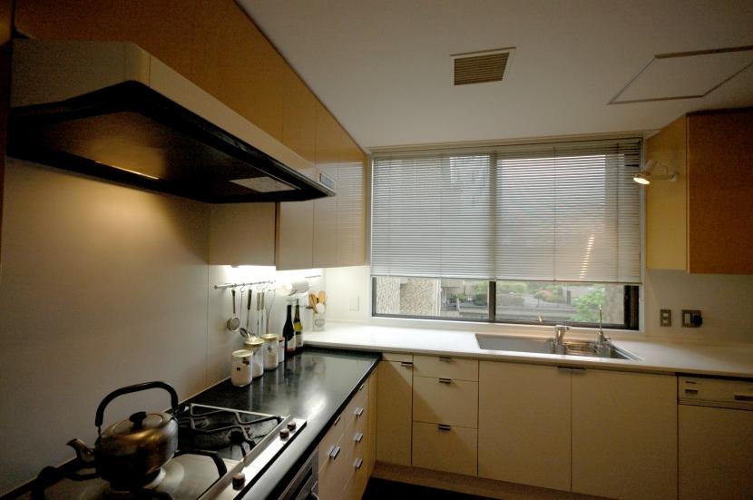 白金台K邸の部屋 キッチン